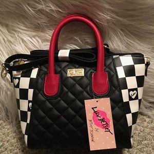NWT Betsey Johnson Satchel/crossbody Bag